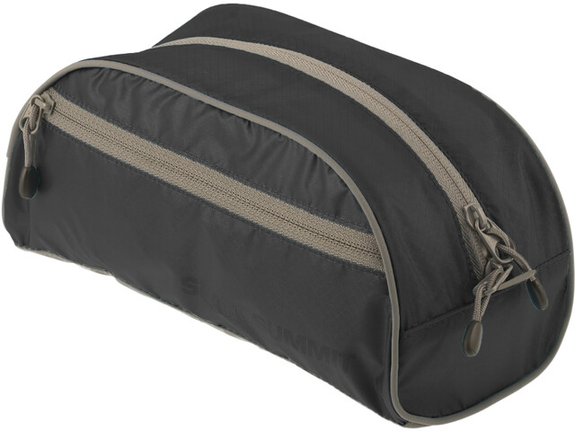 Sea to Summit Toiletry Bag Pequeña, black/grey